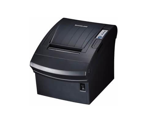 Das Bild zeigt den Bondrucker für das ipad Kassensystem von SumUp