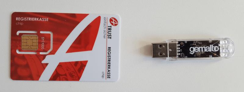 Signaturerstellung auf USB-Stick