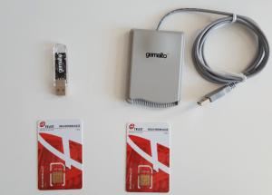 Sicherheitseinrichtungen USB mit Karten von Atrust