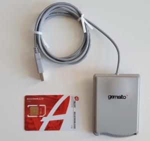 Kartenleser USB Sicherheitseinrichtung