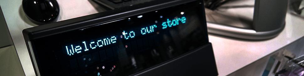 Kassensysteme Kundenanzeige