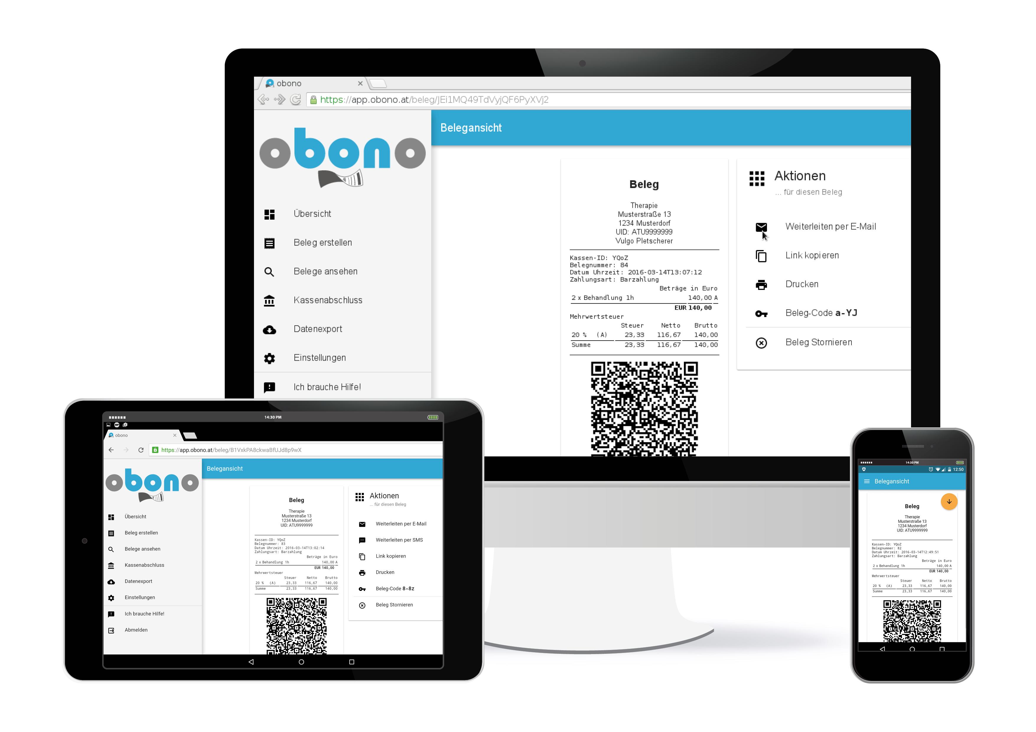 obono - mobile Registrierkasse