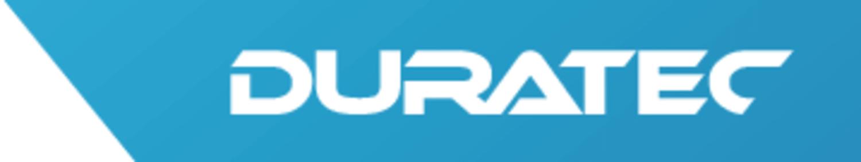 Im Bild ist das Logo von Duratec