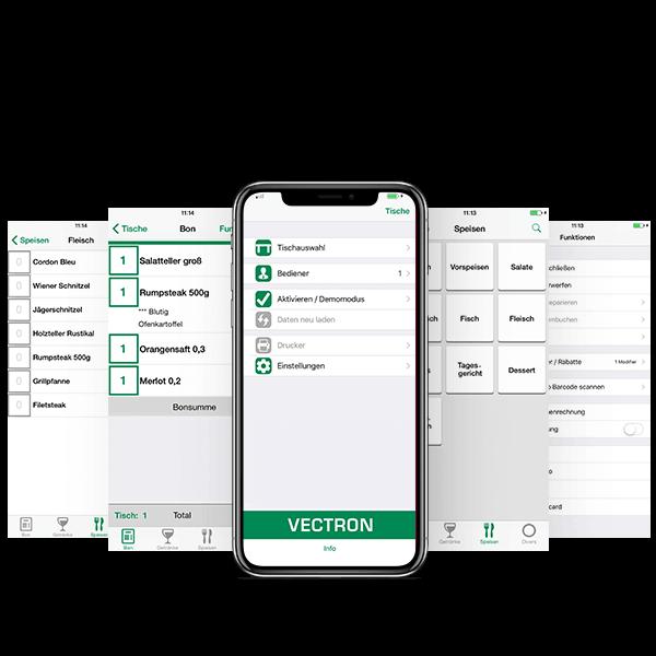 Kassen-App Vectron MobileApp | Foto: Vectron Systems