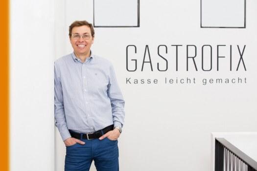 Das Bild zeigt Stefan Brehm von Gastrofix