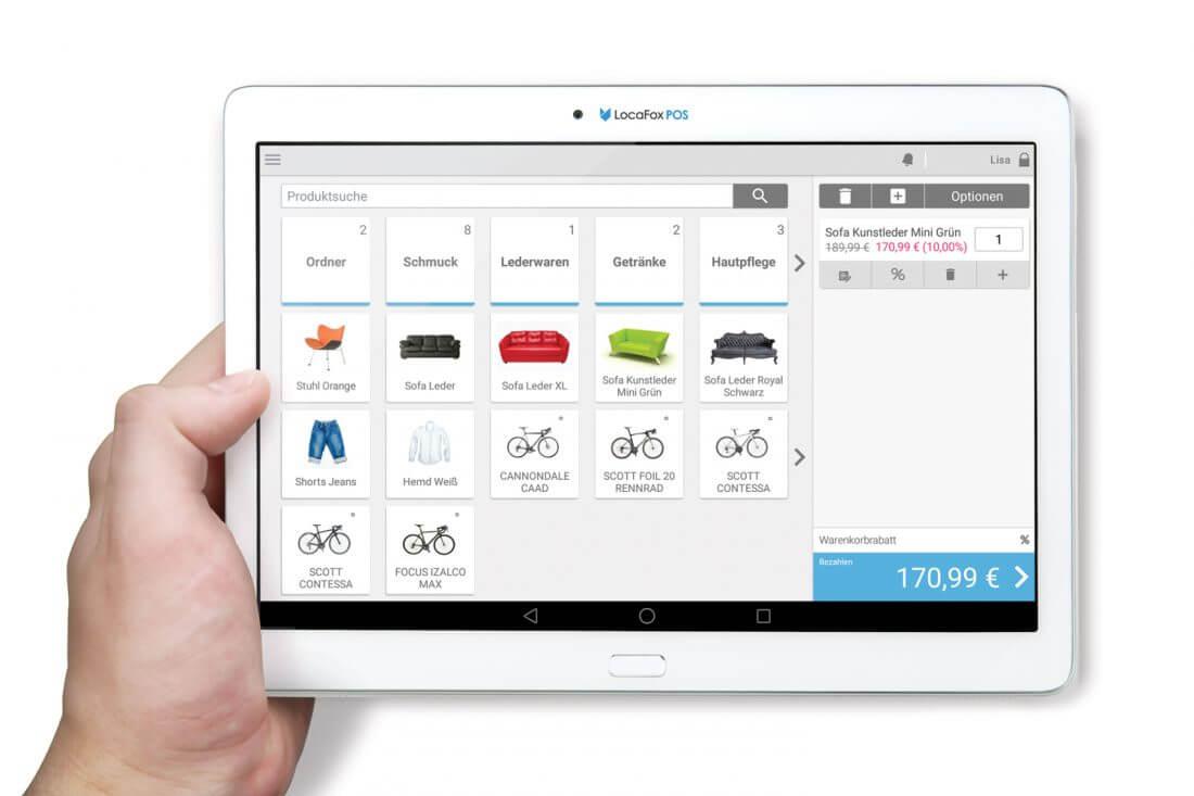 locafox pos kassensystem erfahrungen test kosten handheld. Black Bedroom Furniture Sets. Home Design Ideas