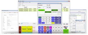 srplus-Software Oberfläche