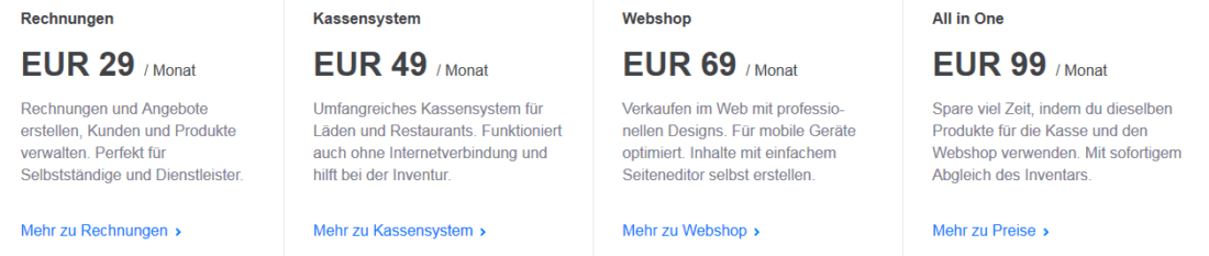 Paymash - Screenshot der Website