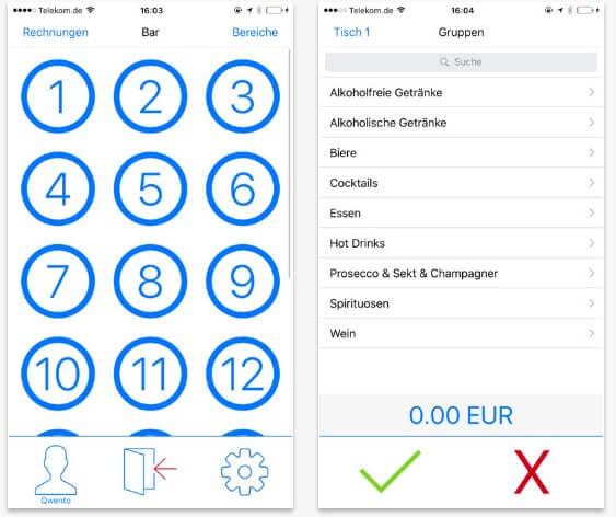 Screenshot 3 der App von Qwento
