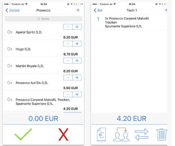 Screenshot 2 der App von Qwento