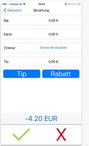 Screenshot 1 der App von Qwento