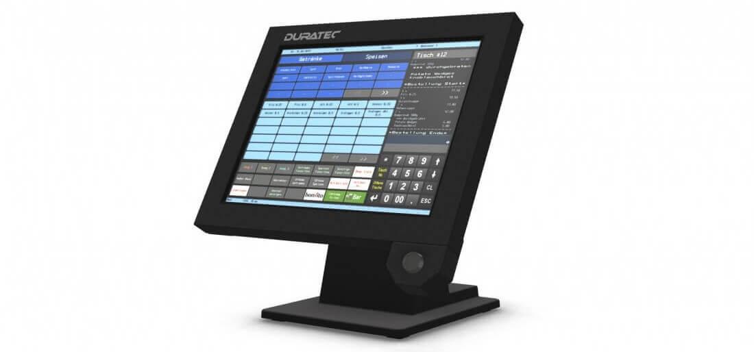 Ein Touchscreen-Kassensystem von Duratec
