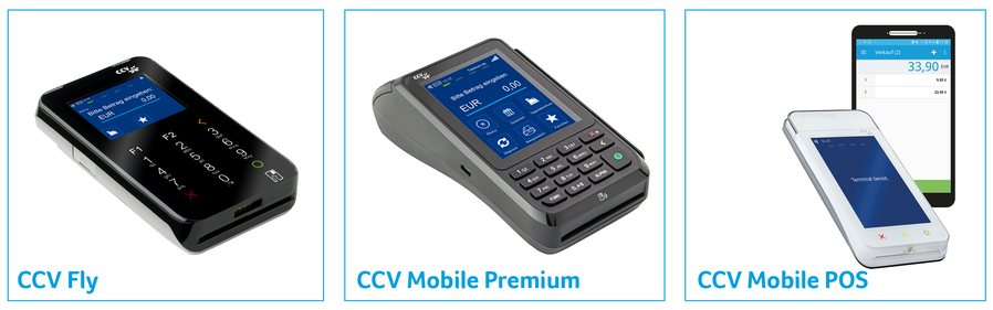 CCV Kartenleser im Bild