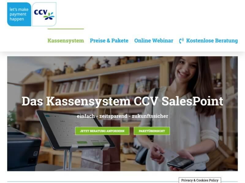 CCV SalesPoint Kassensystem