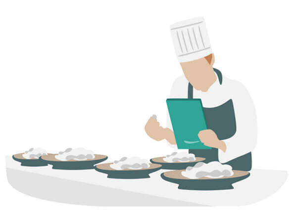 Das Kassensystems NYMESIS: Bestellaufnahme und Weiterleitung an die Küche